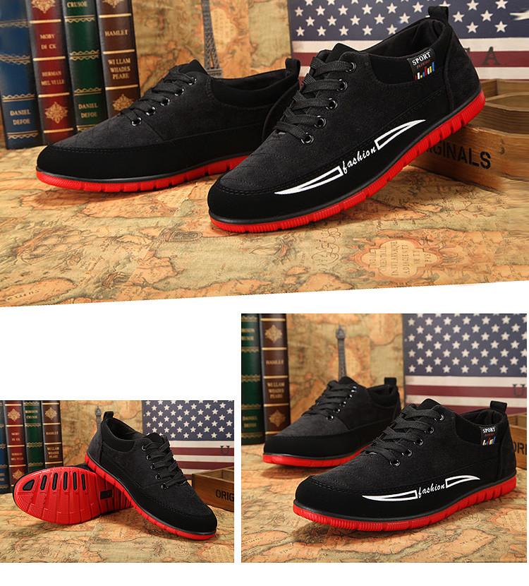 黑色休閒運動鞋擺拍