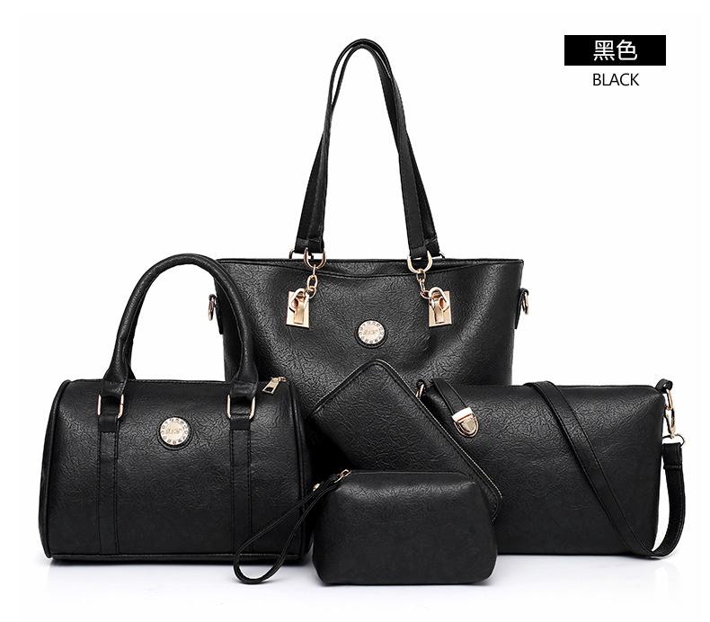 黑色子母包手提包