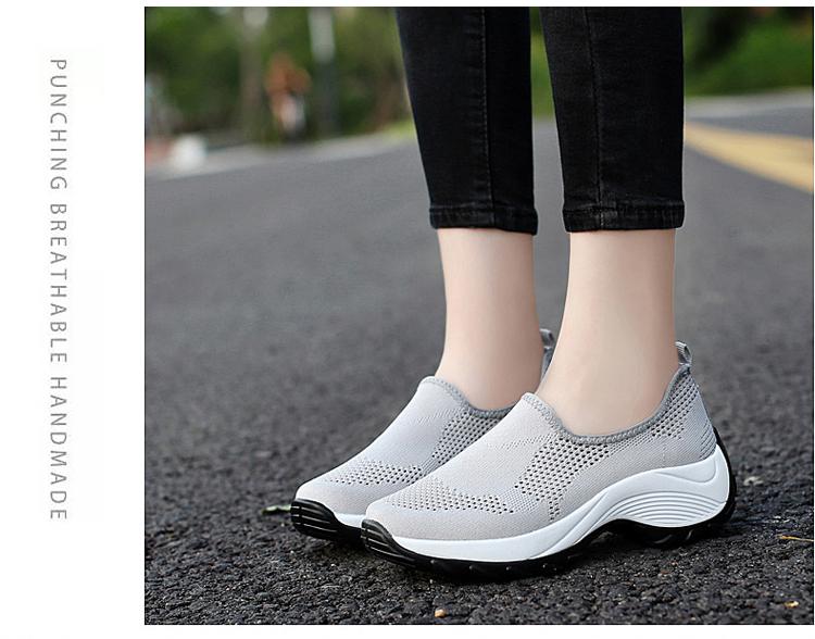 時尚休閒百搭女鞋灰色