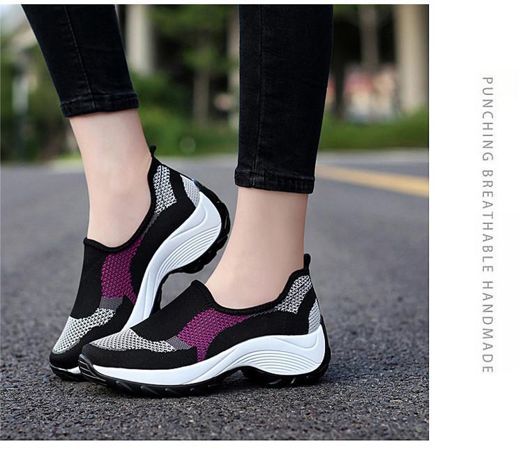 時尚休閒百搭女鞋紫色