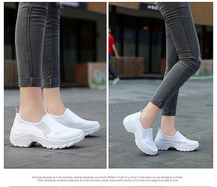 時尚休閒百搭女鞋白色