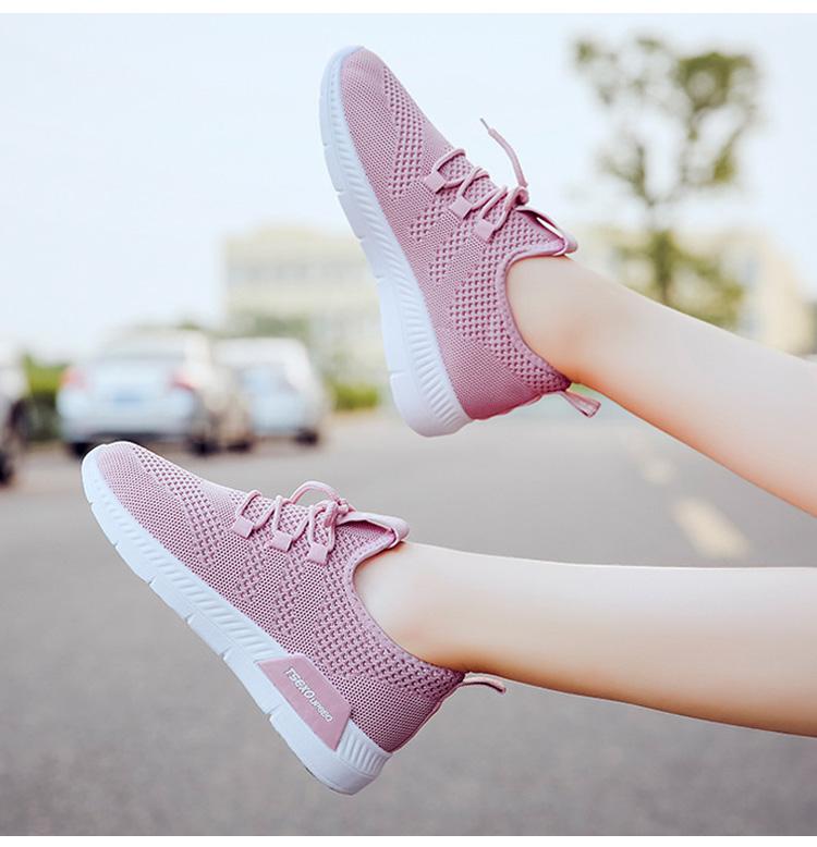 編織牛津鞋運動休閒鞋