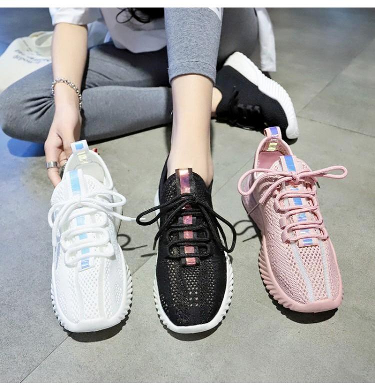 女生透氣韓版運動鞋