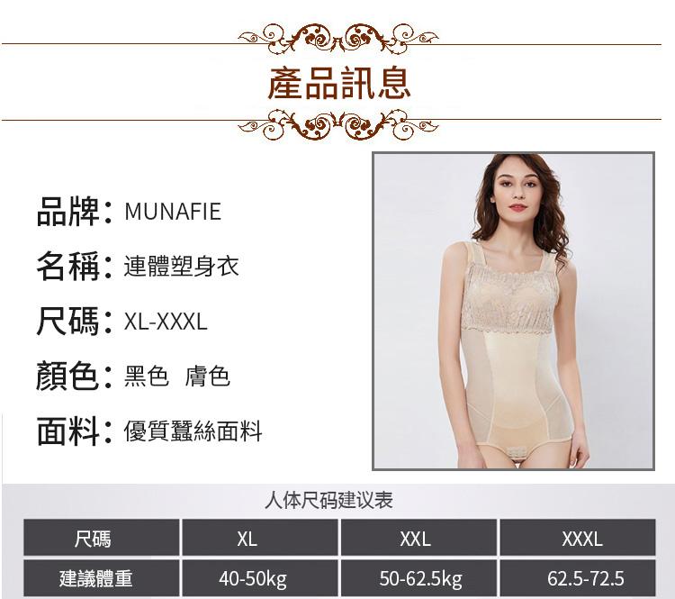 塑身衣產品參數
