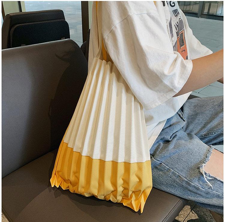 黃色可折疊空氣包