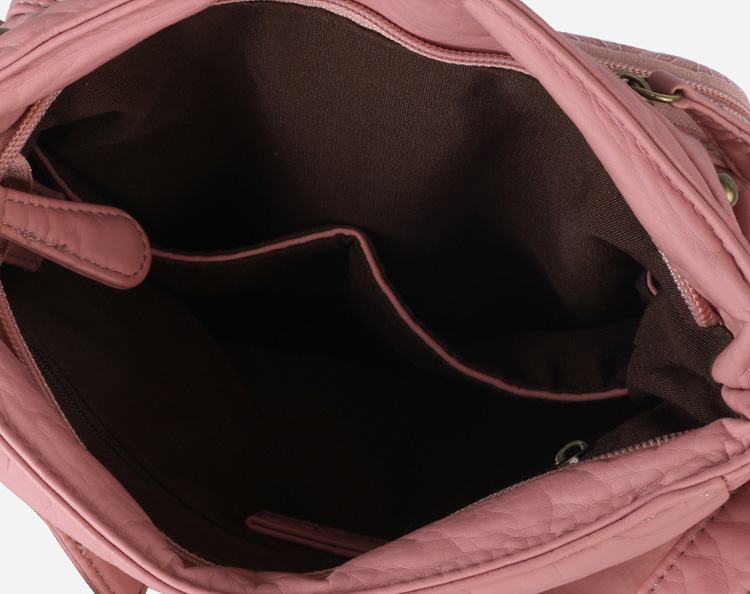 歐美風時尚小方包單肩包內袋展示