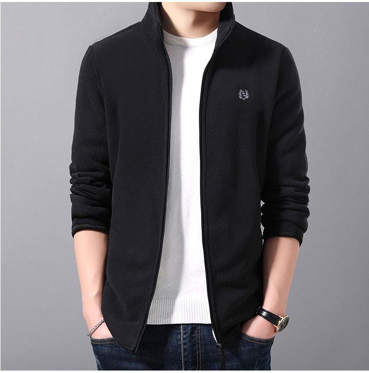 黑色夾克外套