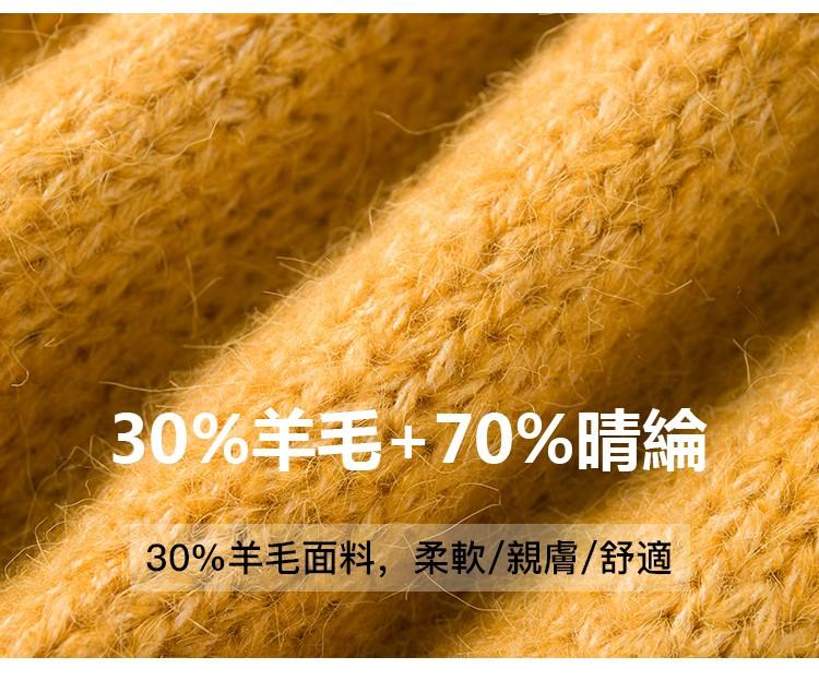 面料展示30%羊毛